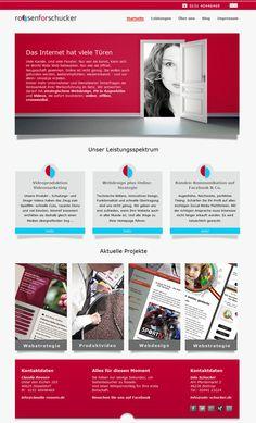 Sie wollen erstklassige Ergebnisse in den Sektoren Text, Webdesign, Videoproduktion, Online- und Social-Media-Marketing – kurzum: einen starken Auftritt? roosen for schucker - multimediales Infotainment.