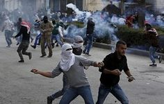 Israeli troops aggressively disband Palestinian protesters - The Palestinian Information Center