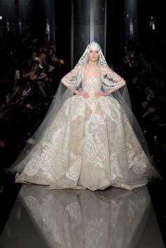 Le défilé Elie Saab haute couture printemps-été 2013