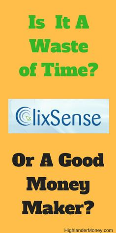 learn-aboutclixsense How to make money online by working from home. Simple and not that hard.