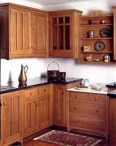 Kitchen Cabinets:Arts and Crafts cabinetry | Old House Web