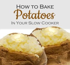 How to Bake Potatoes in Your Slow Cooker   VLHamlin