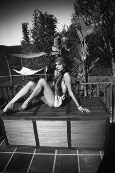 Catrina Stella for PLEASE! Magazine Shoot by Richard Bernardin