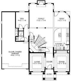 Plan W2352JD: Narrow Lot, European, Northwest, Photo Gallery House Plans & Home Designs