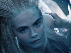 """Cara Delevingne plays multiple mermaids in """"Pan."""""""