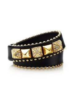 #festivefaves Juicy Couture Skinny Leather Wrap Bracelet $78 @Juicy Couture
