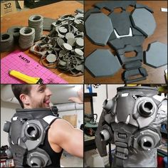Cosplay Ideas zarya cosplay 3 - Cosplayer Jechts decided to build a genderswapped Zarya cosplay from Overwatch for this year's BlizzCon. The character is sort of a tank, and she has a sleeveless costume with armor and pink …