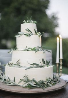 I love simple cakes