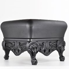 Little Prince of Love Ottoman in Chic Black from PoshTots #PTRoyalBaby #prince #royal