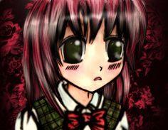 Anna Legaspi Art: Little Anime Girl using Watercolours and Gimp