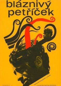 Plakát k filmu Bláznivý Petříček
