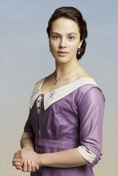 LADY SYBIL CRAWLEY, THE YOUNGEST DAUGHTER  The family rebel, Lady Sybil Crawley is fiercely political and generally angered by injustice everywhere. Sybil exasperates both parents. She will go through the motions when it comes to the responsibilities of high society, but her true goals in life are well beyond what her parents consider the proper field.
