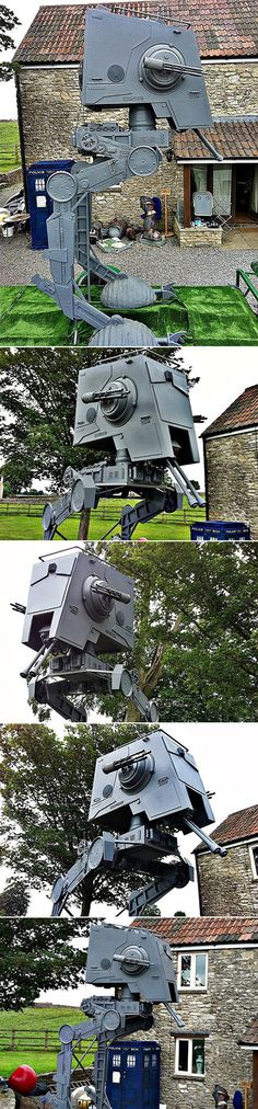 You Can Actually Buy This Life-Sized Star Wars AT-ST Walker for Under $20,000 - TechEBlog