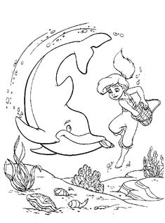 The Little Mermaid Coloring Pages