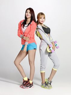The AOA Ladies are Sporty Babes for 'ELLESE' | Koogle TV