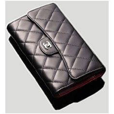 chanel small wallet lambskin bags pinterest. Black Bedroom Furniture Sets. Home Design Ideas