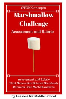 Looking to assess your students ability to apply the Engineering Design Process?This product is a detailed assessment aligning to Next Generation Science Standards as well as Common Core Math Standards.The assessment and accompanying rubric provide a solid assessment of students' abilities to apply the steps of the Engineering Design Process to successfully accomplish the Marshmallow Challenge Students must:Identify constraints and limitationsBrainstorm possible solutions Create a design or…