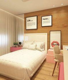 Uma sonho de quarto de menina para terminar a noite! Por Analu Arqdesign via @decorbabyandkids