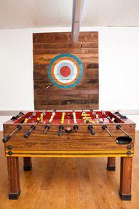 foosball (interior designer Kelly Malone, photo by Myleen Hollero)