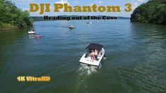 DJI Phantom 3 Professional Heading out of the Cove in 4K UltraHD