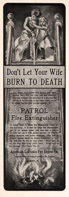 Patrol fire extinguisher 1905