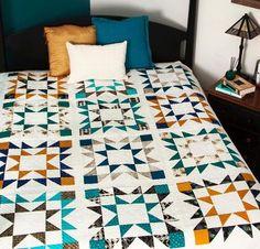 Very Cool Robert Kaufman Beau Nova Quilt Kit