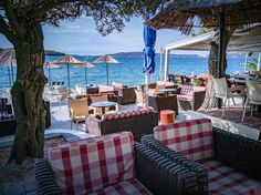 Insider's guide to Croatia's beach clubs - from the chic to camping out Trogir Croatia, Ibiza Clubs, Visit Croatia, Beach Bars, Us Beaches, Beautiful Sunrise, Outdoor Furniture Sets, Outdoor Decor, Cafe Bar
