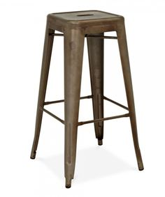 Go industrial chic in your dining or bar area with the Design Lab MN Dreux Barstool - Set of 4 . Inspired by the timeless look of Parisian bistro chairs,. Industrial Bar Stools, 30 Bar Stools, Metal Bar Stools, Swivel Bar Stools, Counter Stools, Industrial Style, Shop Stools, Metal Stool, Industrial Metal