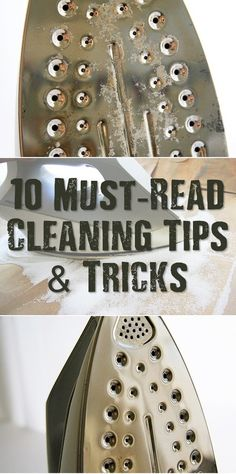 '10 Must-Read Cleaning Tips & Tricks...!' (via SHTF & Prepping Central)