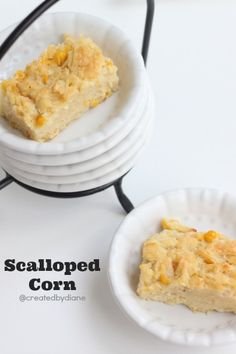 Scalloped Corn @createdbydiane