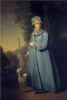 Portrait of Catherine II, Empress of Russia - Vladimir Borovikovsky