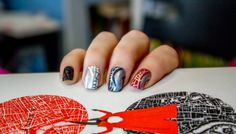 BookTube: DIY Nail Art Inspired By V.E. Schwab's A Darker Shade Of Magic