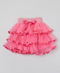 Hot Pink Tutu - Toddler & Girls #zulily *love