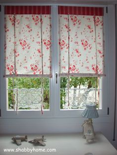 Shabby Home tutorial tende