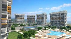 Siberland Olive Garden Residence Apartments in Alanya Www.rivierainvest.ru