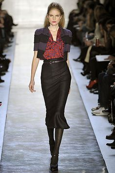 Moschino Cheap And Chic Fall 2008 Ready-to-Wear Fashion Show - Malin Ones