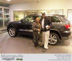 #HappyBirthday to Stanley Gibson from James Little III at Monroeville Chrysler Jeep!