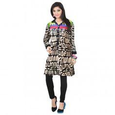 Kurtis - Buy Designer Kurti Online For Women Off - IndiaRush Girls Kurti, Ethnic Kurti, Absolutely Gorgeous, Indian, Printed, Cotton, Stuff To Buy, Collection, Design