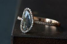 Alexis Russell Natural Pave diamond ring
