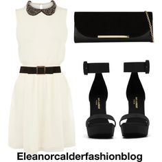"""Dress inspired"" by eleanorcalderfashionblog on Polyvore"