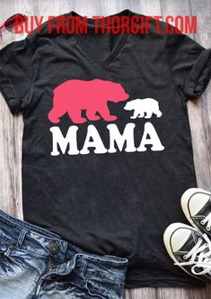 Womens Mama Bear | Mom Gifts | Mom Shirts | Gifts For Mom | Gift Ideas For Mom – Fine Public Great Gifts For Mom, Presents For Mom, Mom Gifts, Gifts For Women, Mom Quotes, Best Mom, Public, Bear, Gift Ideas