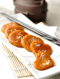 Pumpkin Soft Cake 南瓜軟餅, , #Chinese Style [glutinous (aka sticky or sweet) rice flour, seeded and skinned pumpkin]