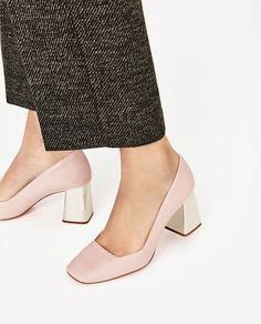 Image 6 of LAMINATED HIGH HEEL PATENT FINISH SHOES from Zara