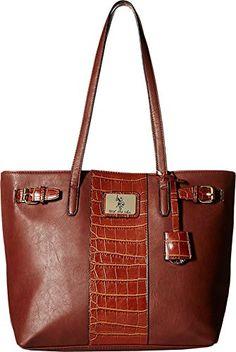 988a0977ffd U.S. POLO ASSN. Women's Dillon Classic Saddle ToteAPPARELIQUE Hermes  Birkin, Fashion Handbags, Fashion