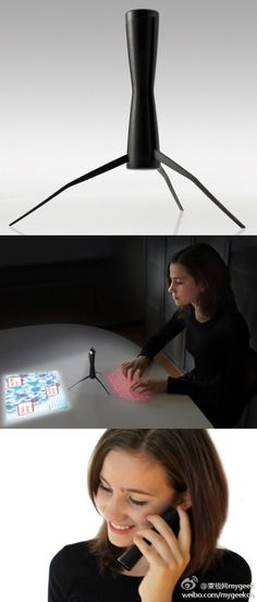 Computer + projector + phone = ?