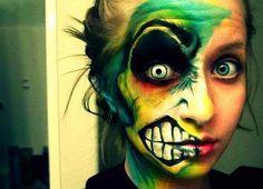 maquillaje de hallowen caracterizacion