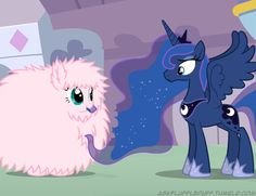 Fluffle Puff And Luna