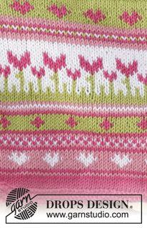 Always Spring Potholder / DROPS - Gestrickter Topflappen mit mehrfarbigem Muster in DROPS Safran. Always Spring Potholder / DROPS - Gestrickter Topflappen mit mehrfarbigem Muster in DROPS Safran. Baby Knitting Patterns, Knitting Charts, Knitting For Kids, Knitting Stitches, Knitting Designs, Baby Patterns, Free Knitting, Drops Design, Punto Fair Isle