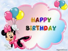 cute happy birthday wishes messages text sms with quotes sms wishes poetry Disney Birthday Wishes, Happy Birthday Mickey Mouse, Happy Birthday Wishes Messages, Happy Birthday Kids, Happy Birthday Pictures, Happy Birthday Greeting Card, Birthday Cards, Happy Birthday Wallpaper, Congratulations