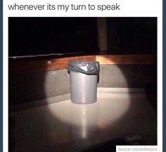 Yes, I am trash. Nice to meet you